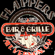 FLAPPERS BAR AND GRILLE logo